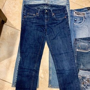Ae American eagle sz 4 jeans pants super cute